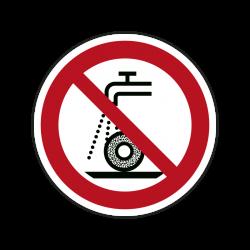 Verbotszeichen P033 Nicht...