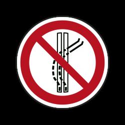 Verbotszeichen P037...