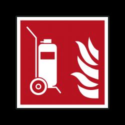 Brandschutzzeichen F009...