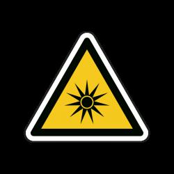 Warnzeichen W027 Optische...