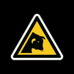 Warnzeichen W034 Warnung...