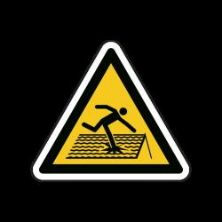 Warnzeichen W036 Warnung...