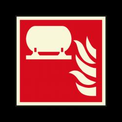 Brandschutzzeichen F012...