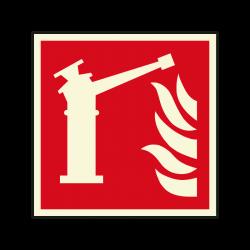 Brandschutzzeichen F015...