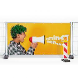 Bauzaunbanner 340 × 173 cm,...