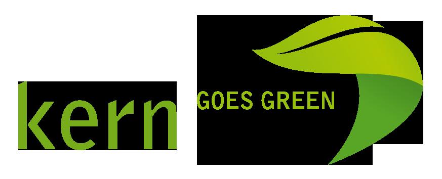 "Logo ""Kern goes green"""