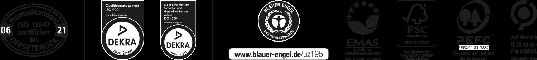 Label und Zertifikate der Kern GmbH